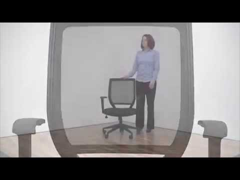 Mesh Office Chair with Memory Foam | NBF Essential | National Business Furniture