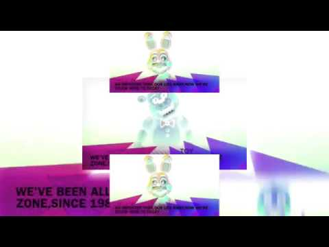 YTPMV FNAF Song Animatronic Voices Lyrics 2 Scan In G-Major