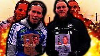 AMATØR MOT PROFFESJONELL FOTBALL CHALLENGES!! RANDULLE MOT FREDRIK NORDKVELLE!!