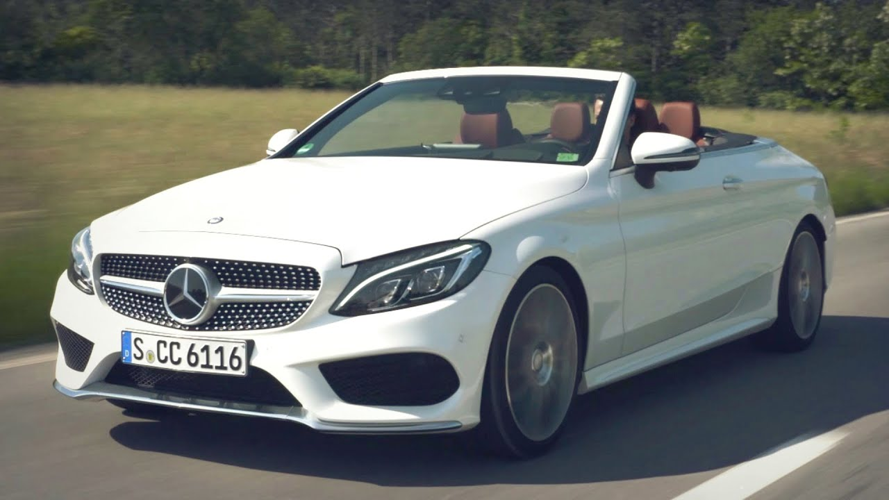 2017 Mercedes C 300 Cabriolet Diamond White Bright