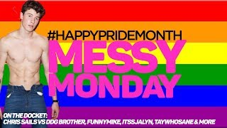 DRAMA ALERT ! ! SHAWN MENDES #PrideMonth, DanielleCohn, FunnyMike & MORE  MessyMonday