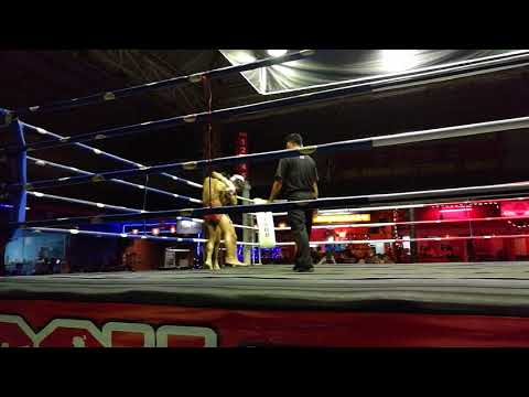 Muay Thai real fight show in Chiang Mai, Thailand