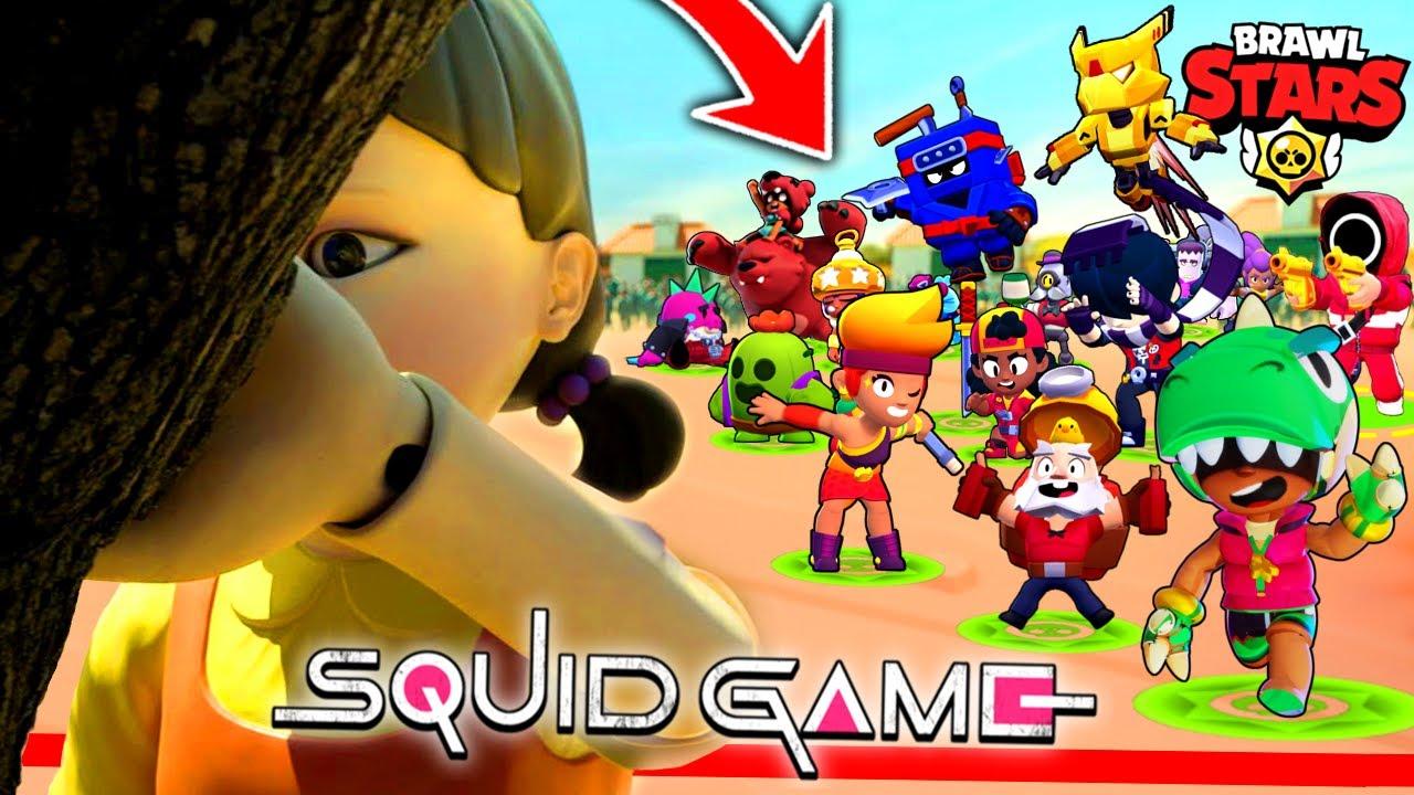 Download SQUID GAME w BRAWL STARS!