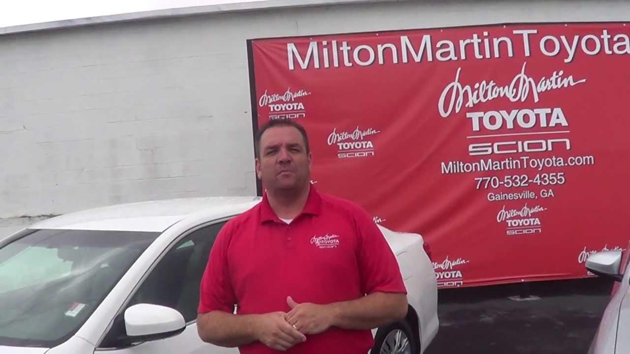 Jason Swoszowski Toyota Camry Model Comparison. Milton Martin Toyota