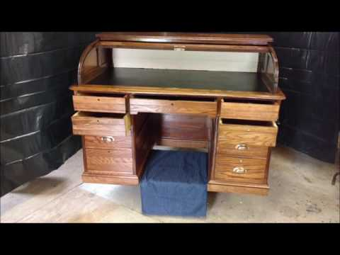 Father and Son Antique desk restoration