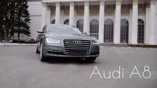 Тест драйв Audi A8 4.2TDI идеальная немка /Drive Time