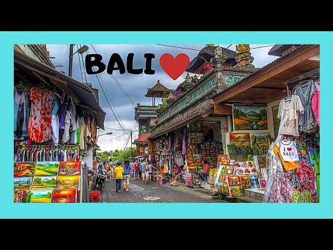 The spectacular markets of Ubud, Bali, Indonesia