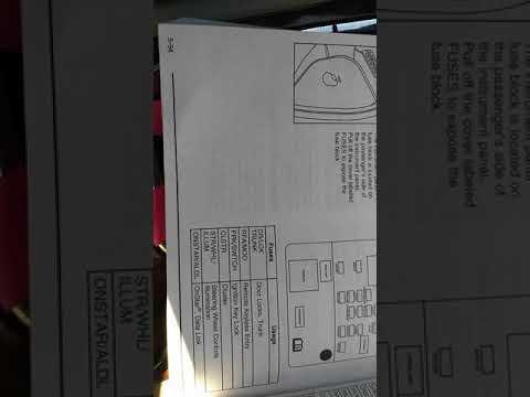 where is fuse box 2006 buick lacrosse fuse box list