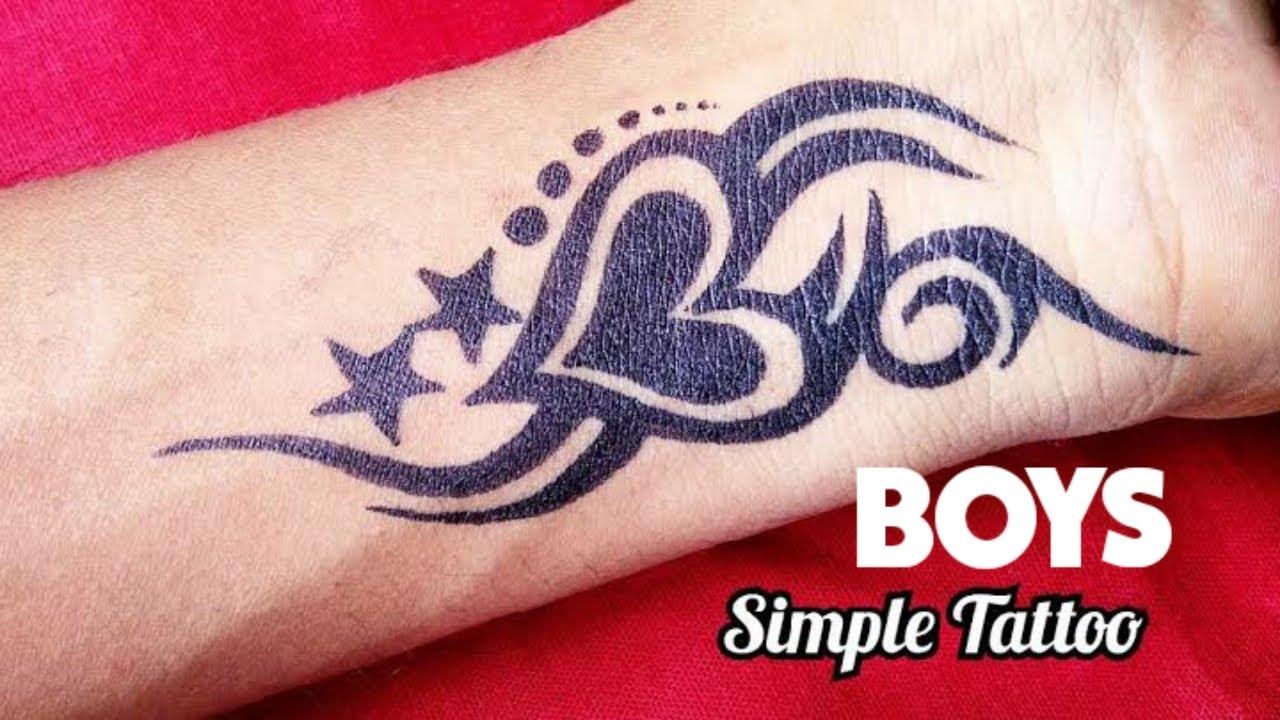 mehndi designs for boys tattoo