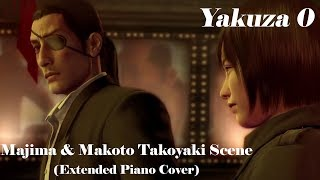 Gambar cover ''A Good Person'' ~Majima & Makoto Takoyaki Scene Extended Piano Cover~