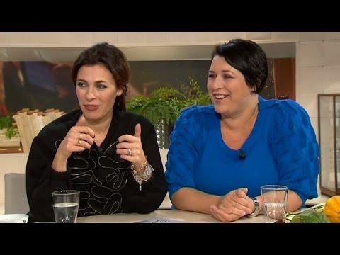 Hannah Widell och Amanda Schulman hyllar farmor med ny bok - Nyhetsmorgon (TV4)