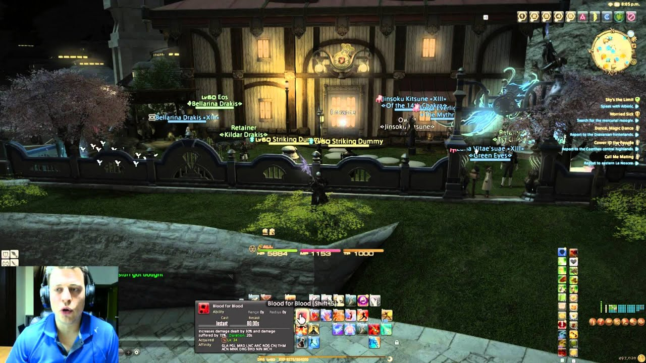 Final Fantasy XIV tips with Buffs