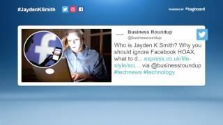 Jayden K Smith Facebook hoax goes viral