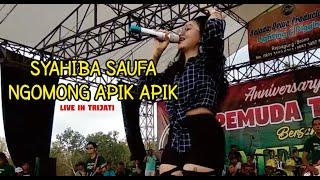 SYAHIBA SYAUFA NGOMONG APIK APIK Live In Trijati GLAGAHAGUNG