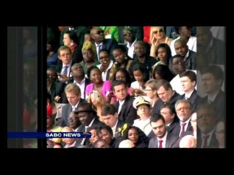 Namibia's new President Hage Geingob inaugurated