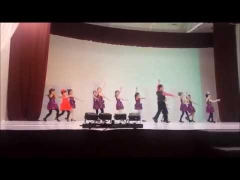 Kids Recital June 2015 - Latin Group  #1 - Cha Cha