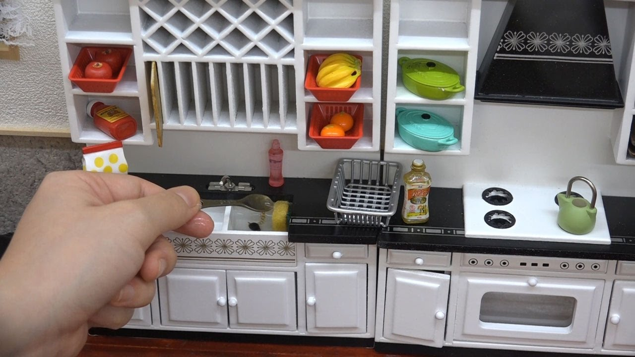 Miniature Kitchen For Cooking Mini