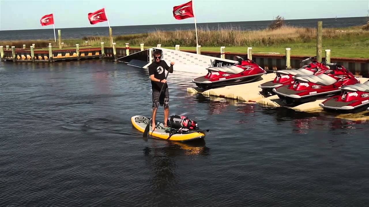 Naish Mana Air Standup Paddle Board Review Youtube
