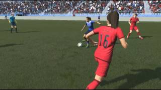Tobin Heath FIFA 16 Skill Compilation