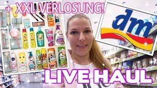 ♡ LIVE dm HAUL! + XXL dm & rossmann VERLOSUNG! ♡