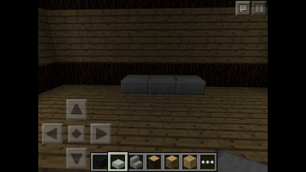 How To Build Minecraft PE Furniture