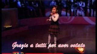 Serena da Scicli, Sul cucuzzolo della montagna, canzone vincitrice 1^ edizione Accademia Kids.