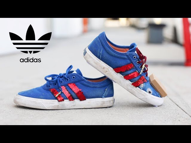 Making my own Custom Adidas Shoes