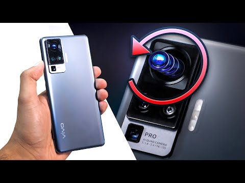 vivo X50 Pro Unboxing - World's first Rotating Camera.