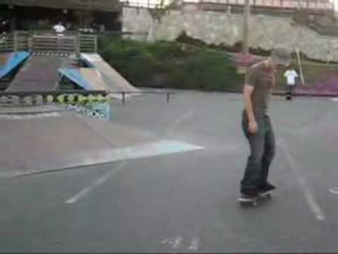 aaron short skate video