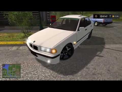 farming simulator 2017 bmw e36 320i youtube. Black Bedroom Furniture Sets. Home Design Ideas