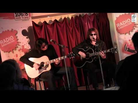 """EUROPE """"Superstitious"""" acoustic radio concert with Joey Tempest and John Norum"""
