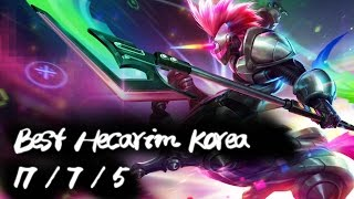 Best Hecarim Korea Top | Perfectly countered Fiora