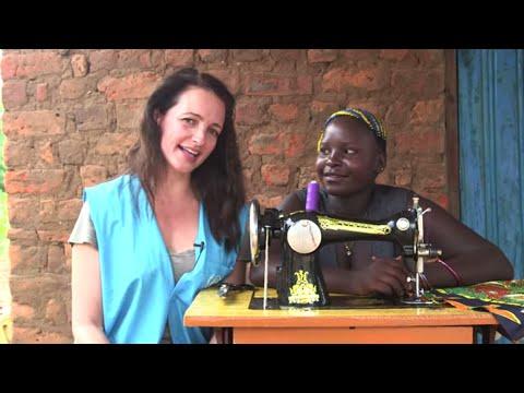 Kristin Davis gets to know Fiona for World Refugee Day 2015