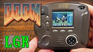 DOOM on a Digital Camera from 1998!
