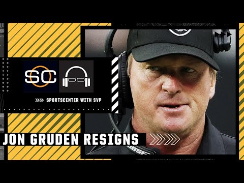 Jon Gruden resigns as Raiders head coach   SC with SVP