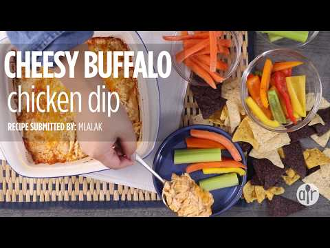 How To Make Cheesy Buffalo Chicken Dip | Appetizer Recipes | Allrecipes.com