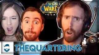 """Asmongold Reacts to """"Anger Over WOW Classic Streamer Privilege Of Pokimane & Asmongold"""""""