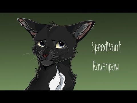 [WARRIORS] Ravenpaw SpeedPaint (to upload)