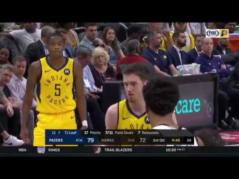 TJ Leaf Vs ATL 28 PTS                         4.10.19