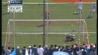 Independiente 4 Racing 0 (Relato Pablo Giralt) Apertura 2005 (Resumen Completo)