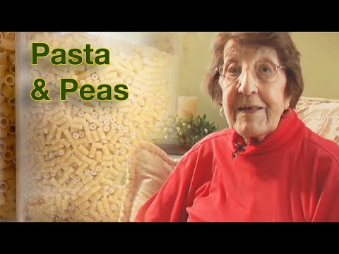 Great Depression Cooking - Pasta & Peas - Higher Quality