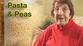 Great Depression Cooking  Pasta & Peas  Higher Quality