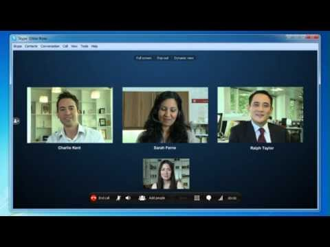How To Make A Skype Video Conference Call - Windows