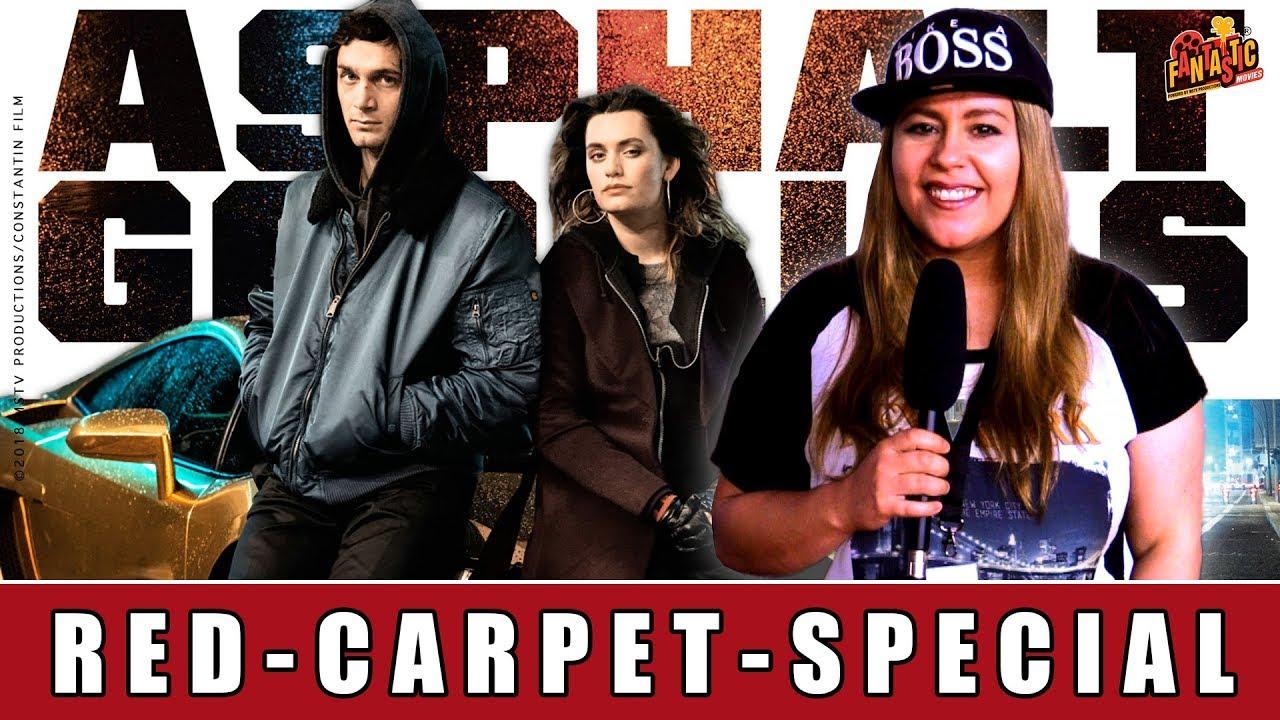 Asphaltgorillas - Red-Carpet-Special | Stefanie Giesinger | Ella Rumpf | Samuel Schneider