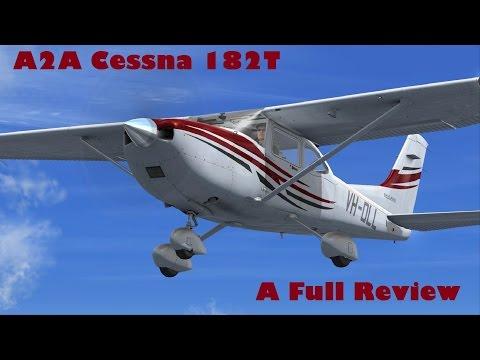 A2A Cessna 182 Skylane    Full review including flight dynamics    FSX | FSX Steam | P3D