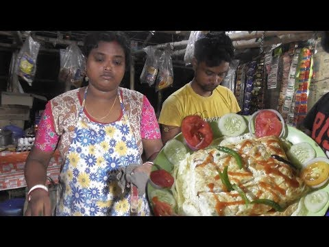 Amazing Art Of Indian Street Food | I Love My India Written On The Egg Bread | Roadside Food