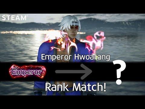 -Emperor Match- MaBack.D (Lucky Chloe) vs CherryBerryMango (Hwoarang) (TEKKEN 7 - MaBack.D vs 체베망)
