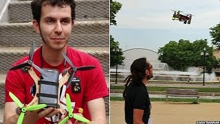 How to build and fly your own drone - BBC News