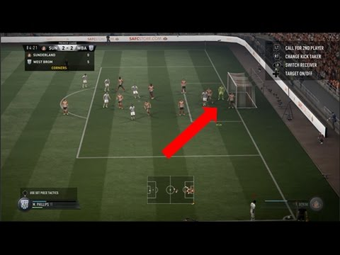 FIFA 17 HOW TO SCORE DIRECTLY FROM A CORNER & WHERE TO AIM THE BALL!!!
