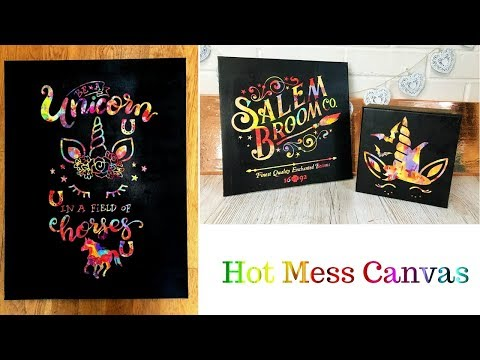Hot Mess Canvas